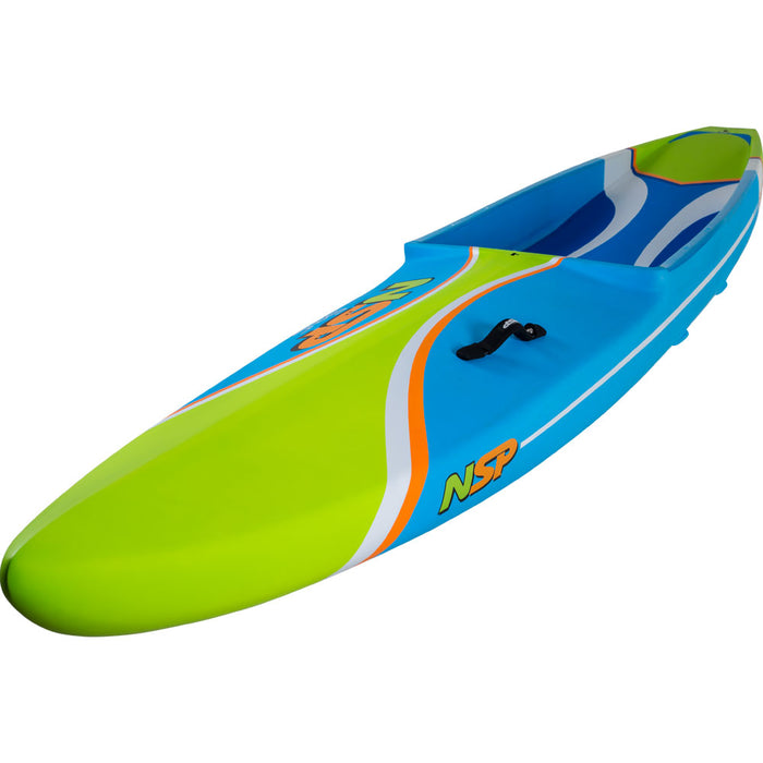 "2019 NSP Sonic Pro Carbon 12'6"" Race Stand Up Paddle Board profile"
