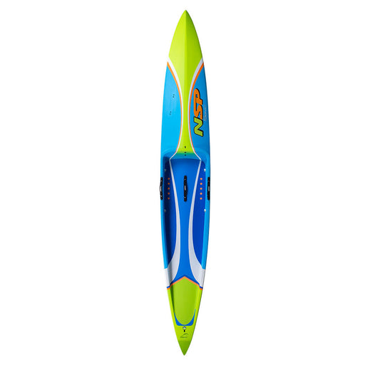"2019 NSP Sonic Pro Carbon 12'6"" Race Stand Up Paddle Board top"
