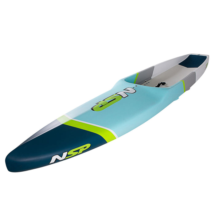 NSP Carolina Pro Carbon 14' Stand Up Paddleboard 2021 profile top