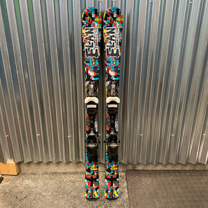 Elan Pinball Team Kid's Skis w/ Bindings  - Used