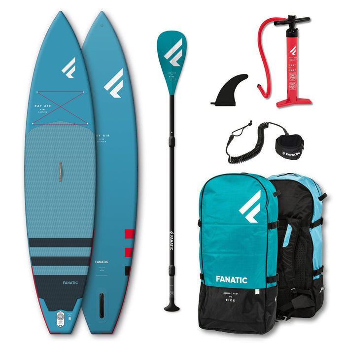 "Fanatic Ray Air 11'6"" Sport Inflatable Stand Up Paddle Board Package 2020"