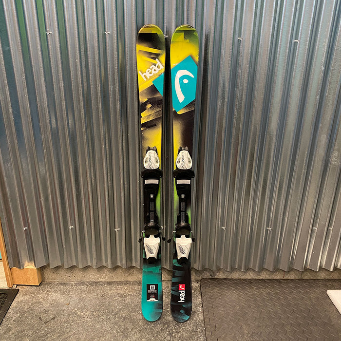 Head Souphead Kid's Skis w/ Bindings  - Used