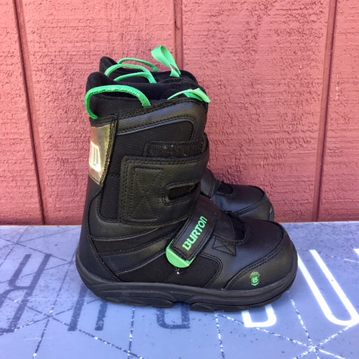 Burton Progression Velcro Snowboard Boot Kid's - USED side