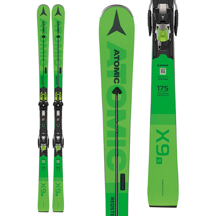 Atomic Redster X9 S Skis with Bindings - New/Open