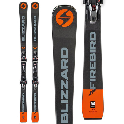 Blizzard Firebird D Competition 76 Skis with Bindings - New/Open