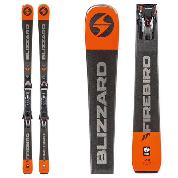 Blizzard Firebird Race Ti Skis with Bindings - New/Open