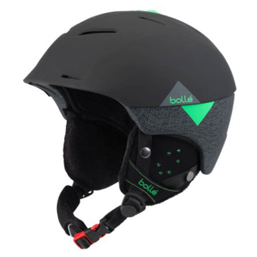 Bolle Synergy Ski & Snowboard Helmet Soft black and green