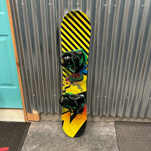 Burton Chopper 110cm Snowboard w/ Bindings - USED