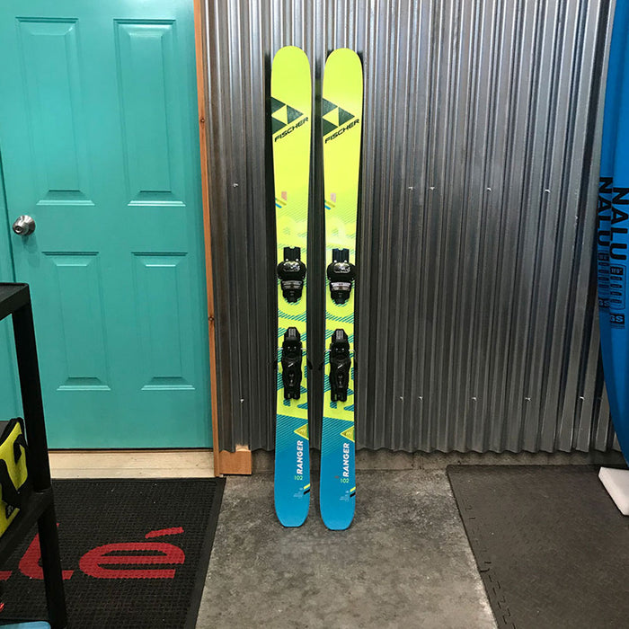 Fischer My Ranger 102 FR Skis w/ Tyrolia Attack 11 Bindings - Used