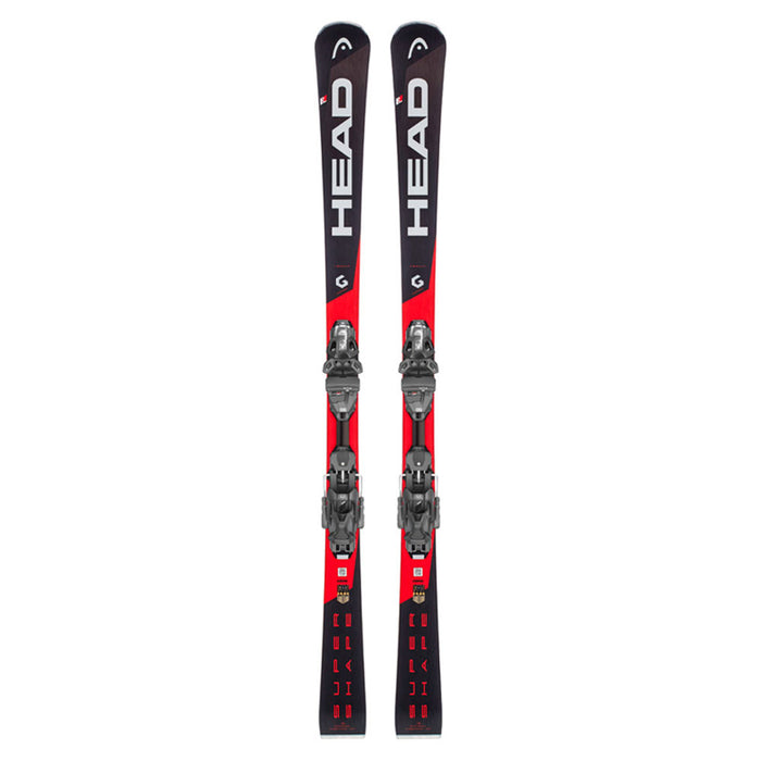 Head Supershape i.Rally Skis w/ PRD 12 GW Bindings Package