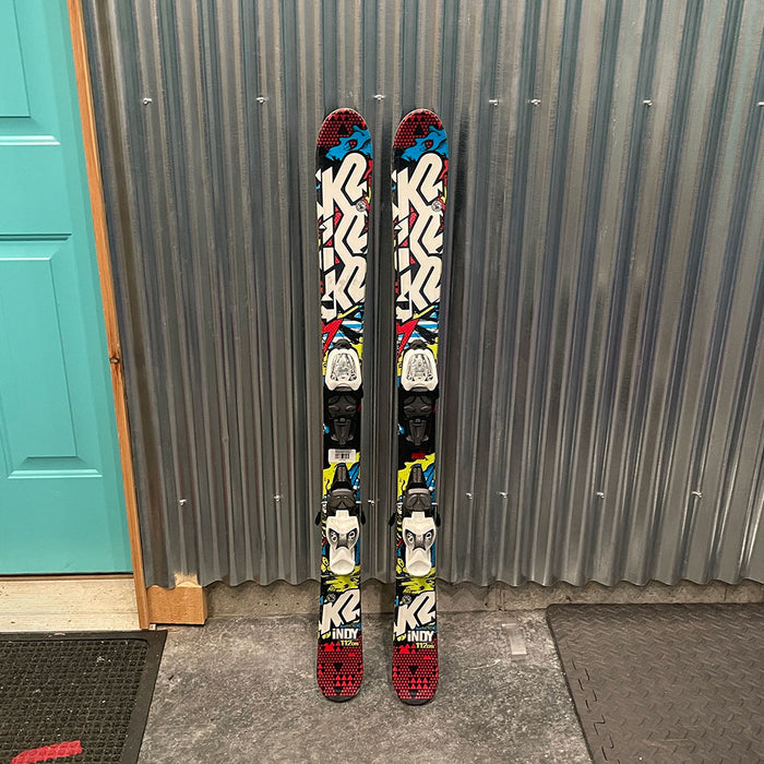 K2 Indy Kids Skis w/ Bindings  - Used
