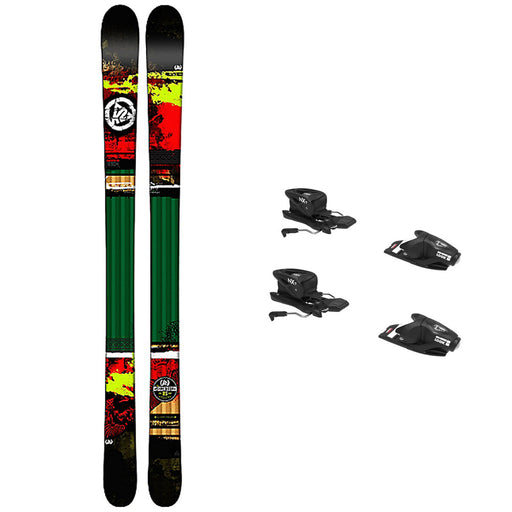 K2 Shreditor Kids Skis w/ Look NX 7 GW Bindings