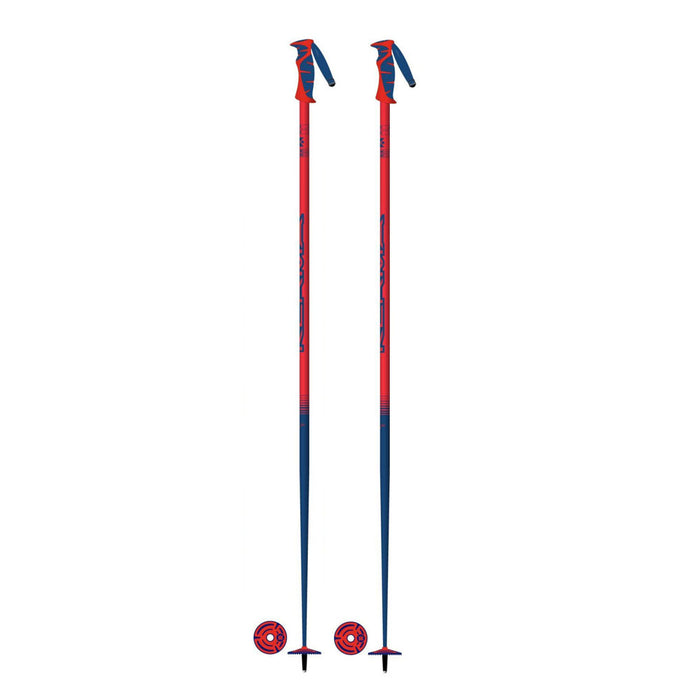 Kerma Vector Ski Pole - Neon Red