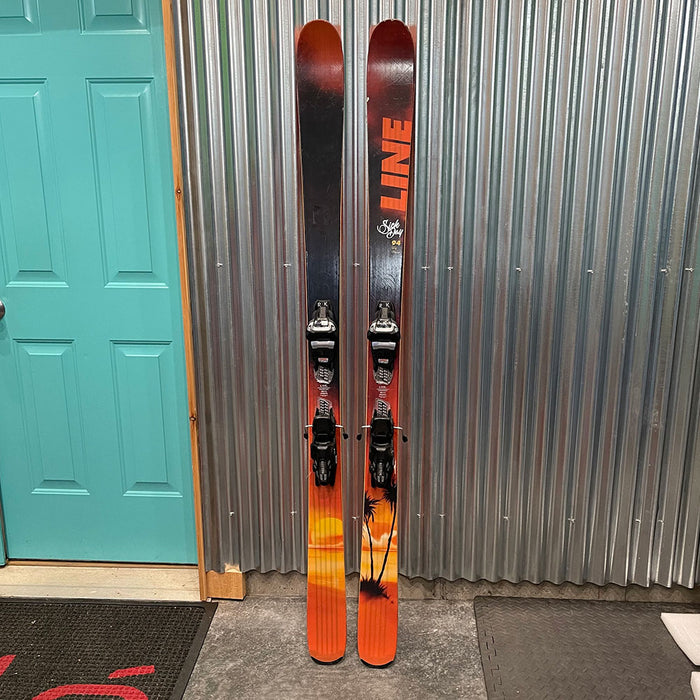 Line Sick Day 179cm Skis w/ Marker Griffon Bindings  - Used