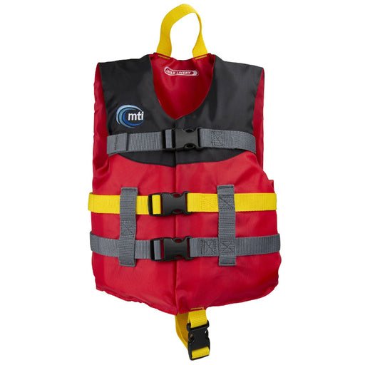 MTI Child Livery Kid's Life Jacket PFD Red Front