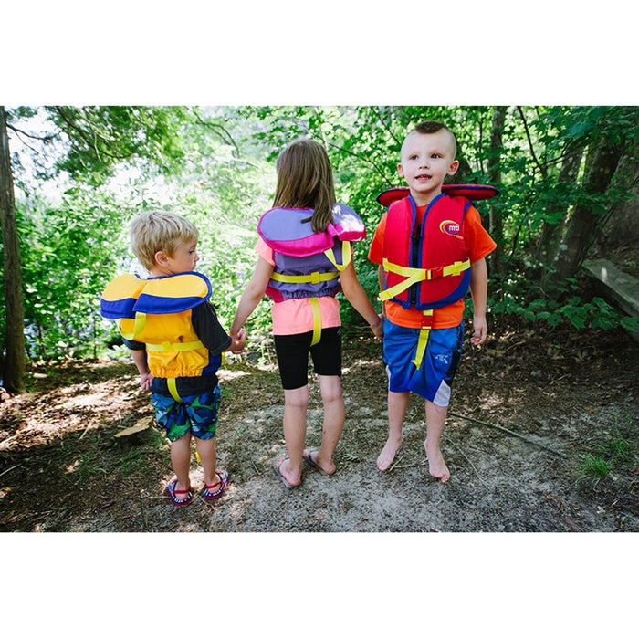 MTI Child w/ Collar Kid's Life Jacket PFD action 2
