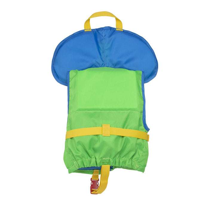 MTI Child w/ Collar Kid's Life Jacket PFD green back