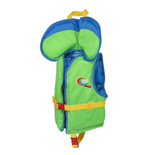 MTI Child w/ Collar Kid's Life Jacket PFD green side