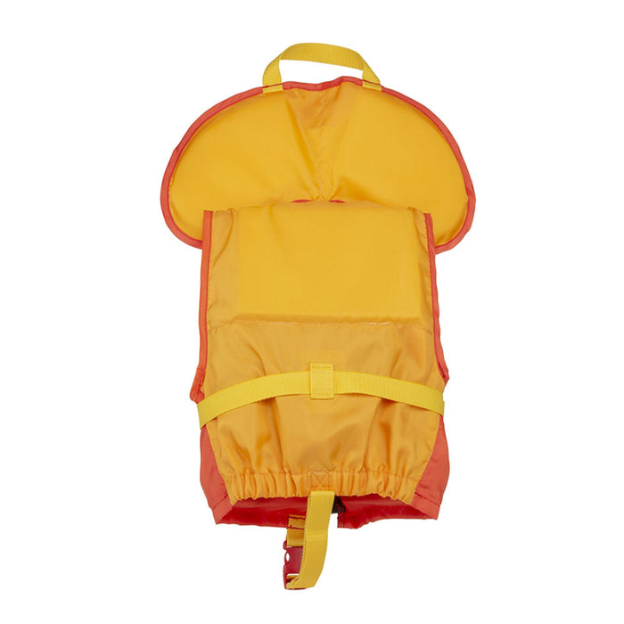 MTI Child w/ Collar Kid's Life Jacket PFD Orange back