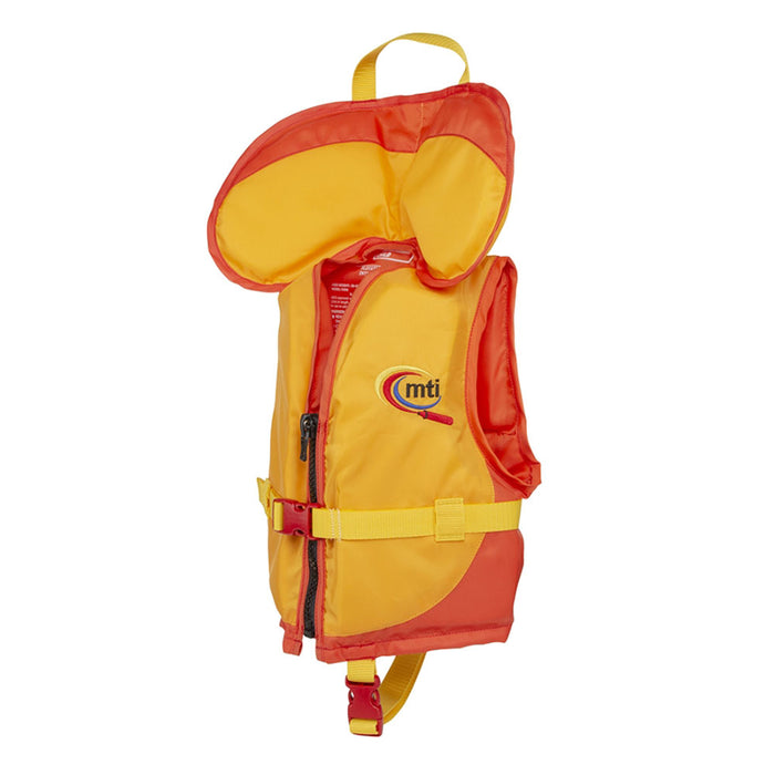 MTI Child w/ Collar Kid's Life Jacket PFD Orange side