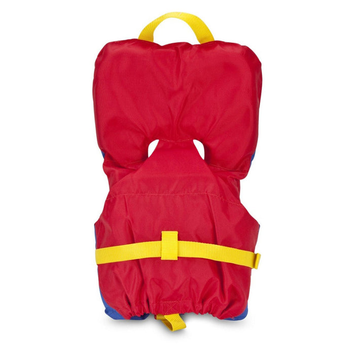 MTI Infant w/ Collar Kid's Life Jacket PFD Red back