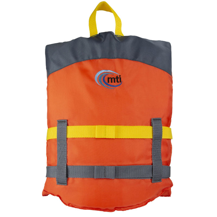 MTI Youth Livery Kid's Life Jacket PFD Orange back