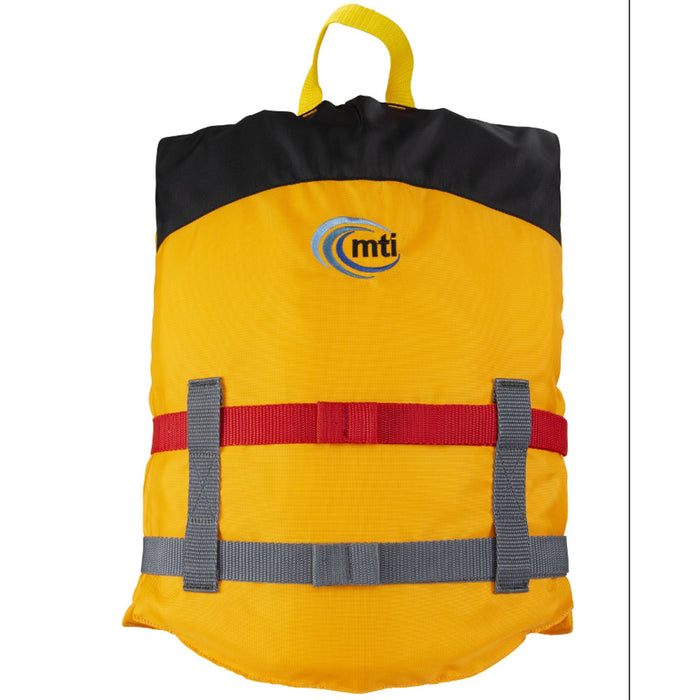MTI Youth Livery Kid's Life Jacket PFD Mango back