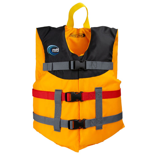 MTI Youth Livery Kid's Life Jacket PFD Mango Front