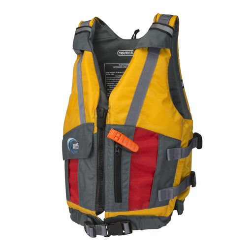 MTI Youth Reflex Kid's Life Jacket PFD Yellow Side