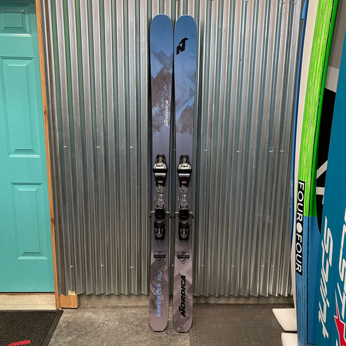 Nordica Enforcer 104 Skis w/ Marker Griffon Bindings  - DEMO