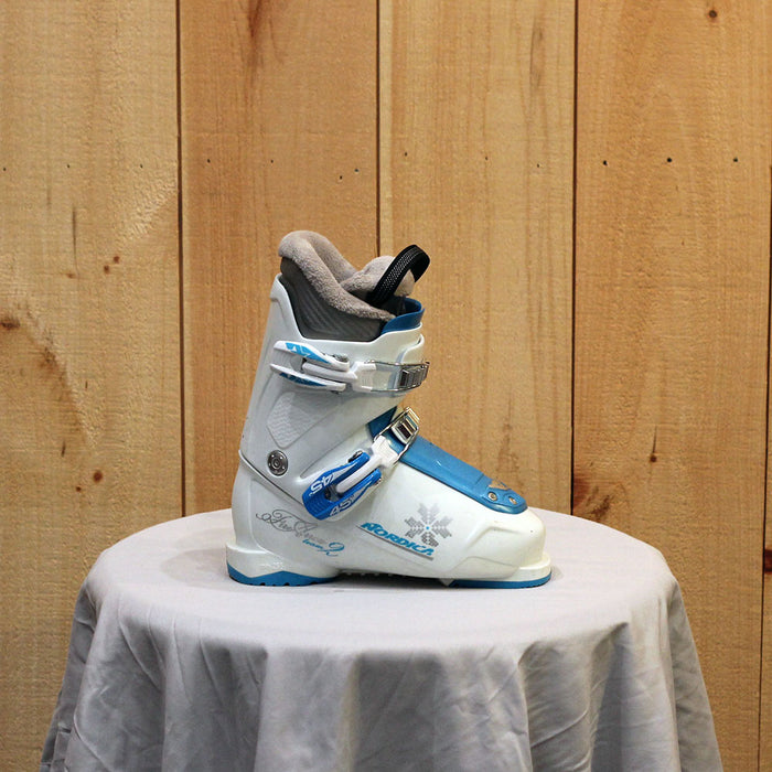 Nordica Fire Arrow Girls Ski Boot - USED