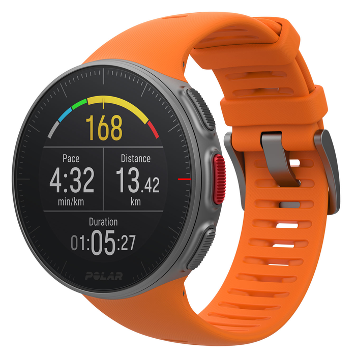 Polar Vantage V Premium GPS Multi-Sport Training Watch orange