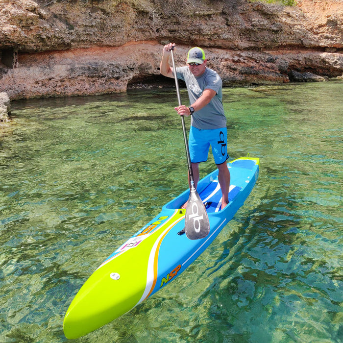 QuickBlade UV All Carbon Stand Up Paddle Board Paddle action 2