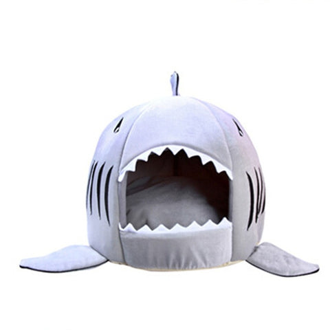 Image of Shark Style Dog Hut