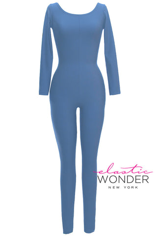 Basic Collection Aquas Soft Sheen And Matte Finish Spandex Bodysuit