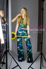 Bell Bottom Universe Galaxy Printed Pallazzo Pants - Elastic Wonder - 4