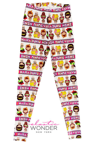 Harajuku Dolls Spandex Leggings