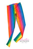 Rainbow Gradient Spandex Leggings - Elastic Wonder - 2