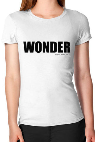 Woman's 100% Cotton Jersey WONDER T-Shirt
