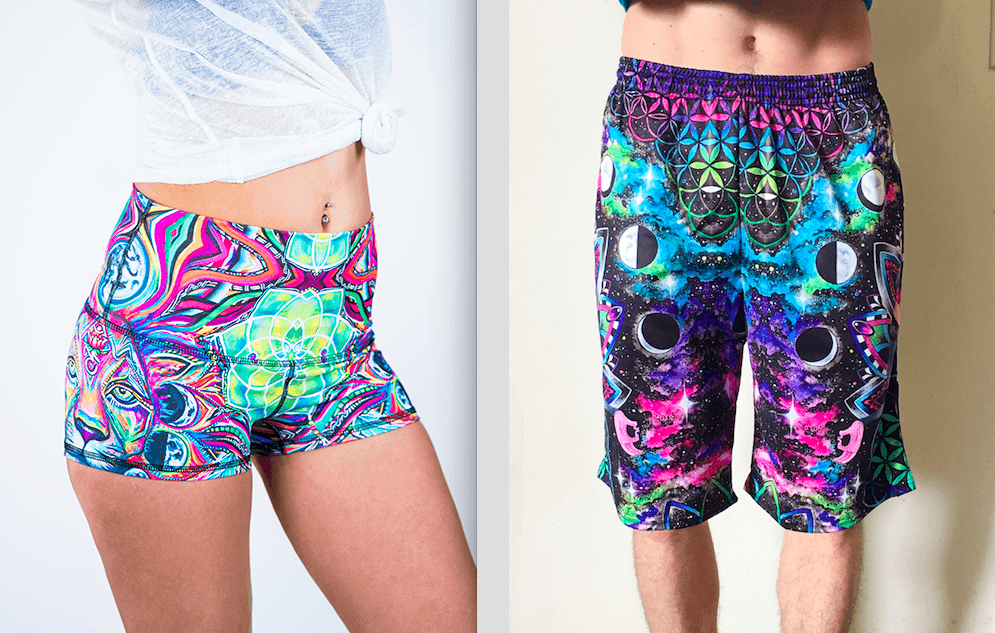 Men's & Women's Rave Shorts Are Here!