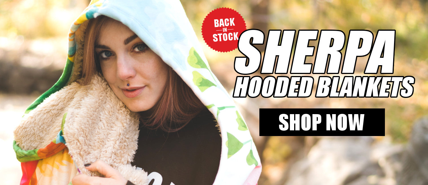 Sherpa Hooded Blanket