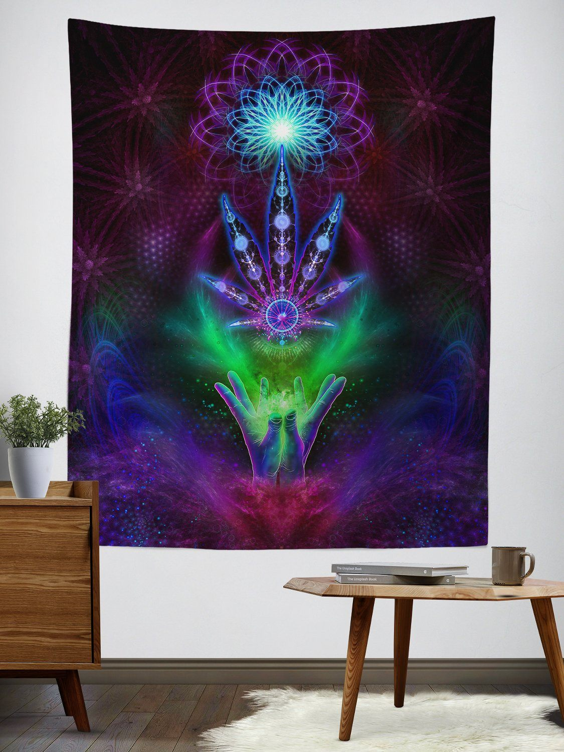 420 Lover Tapestry Tapestry Electro Threads