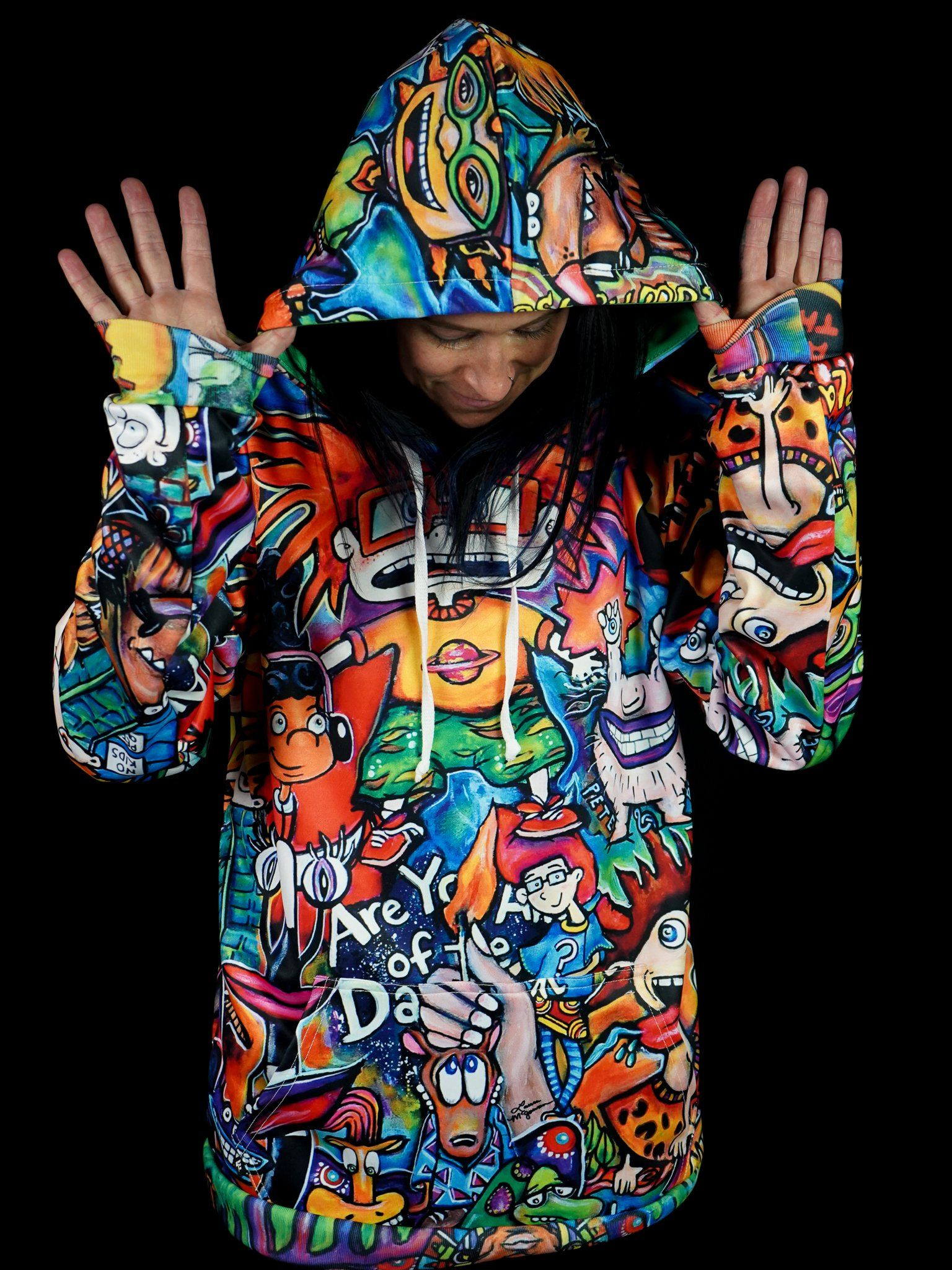 90's Nostalgia Unisex Hoodie Pullover Hoodies Electro Threads XS Pullover Regular