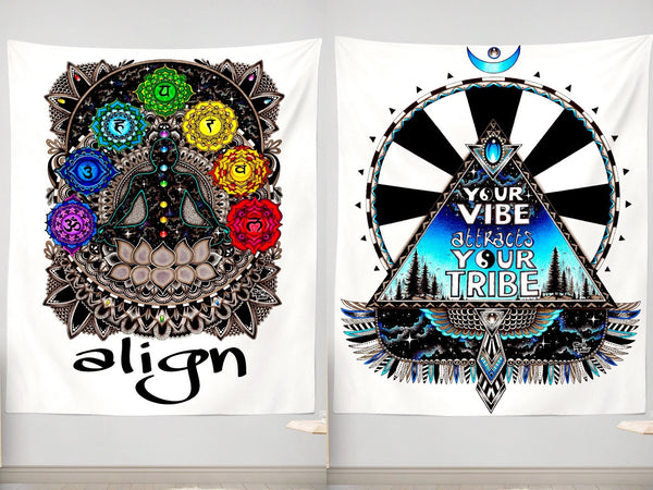 Align + Vibe Tribe Wall Tapestry