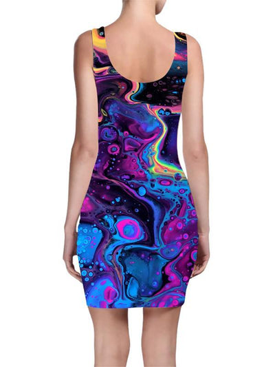Acid Bath Mini Dress Dress T6
