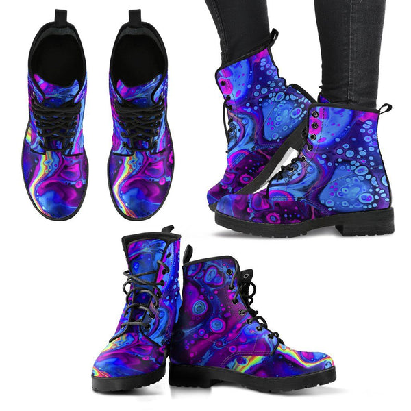 ACID BATH Women's Leather Boots Women's Leather Boots Electro Threads
