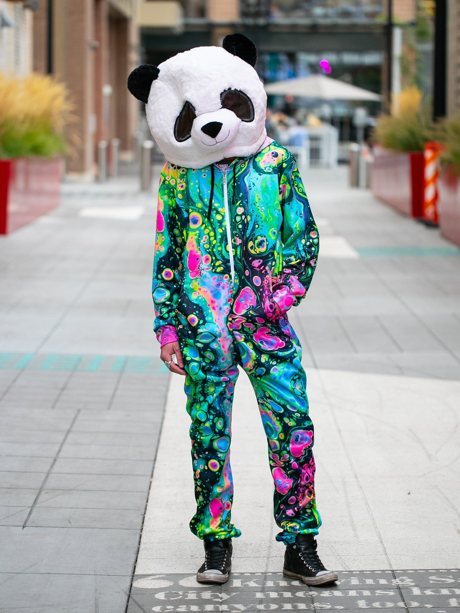 Acid Melt Adult Onesie Onesie T6