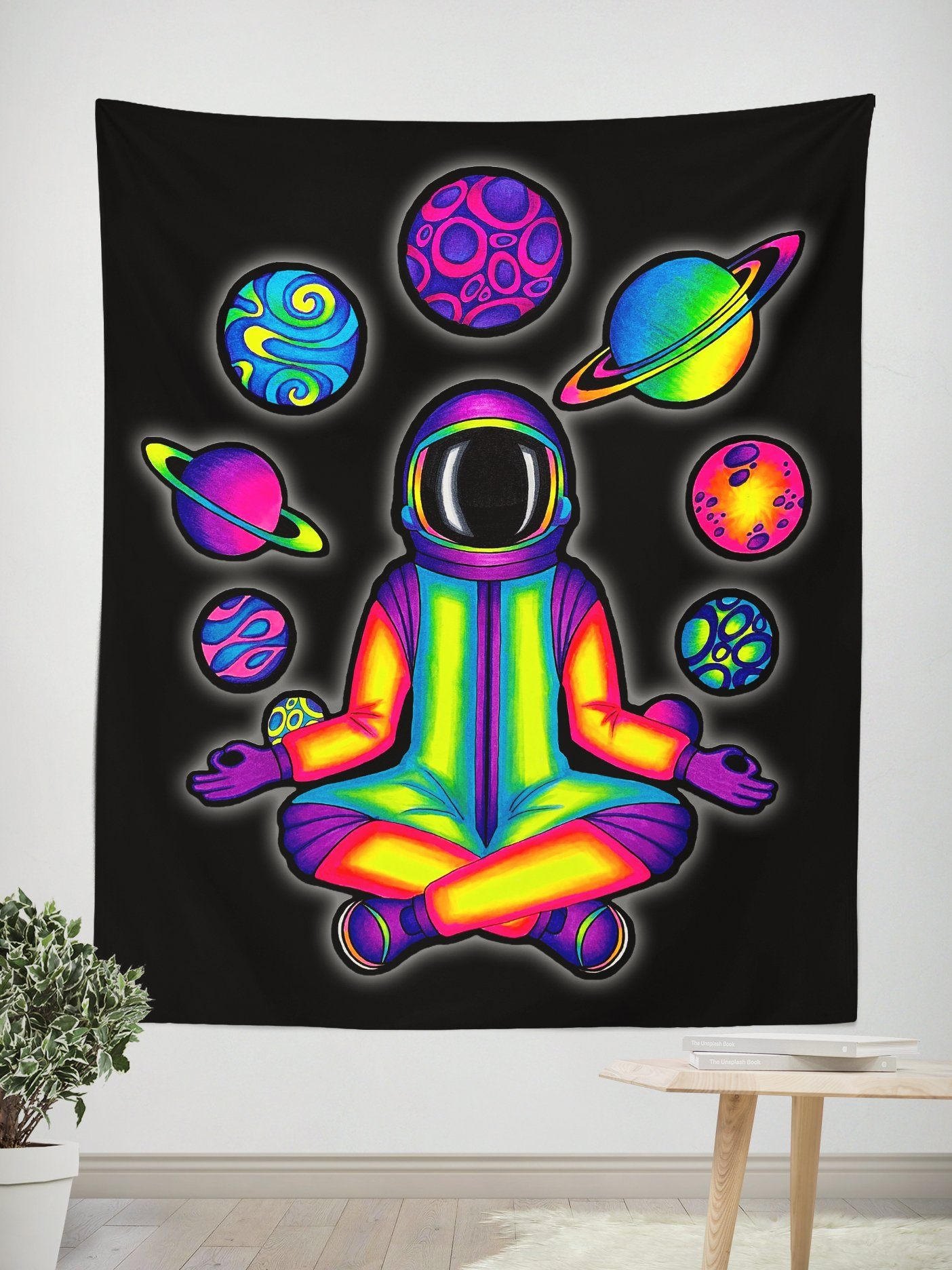 ACIDNAUT Wall Tapestry Tapestry Electro Threads