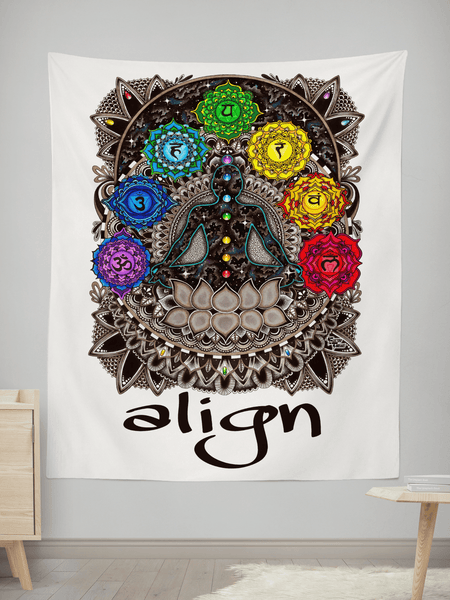 "Align Tapestry Tapestry Electro Threads S: 32"" x 42"""