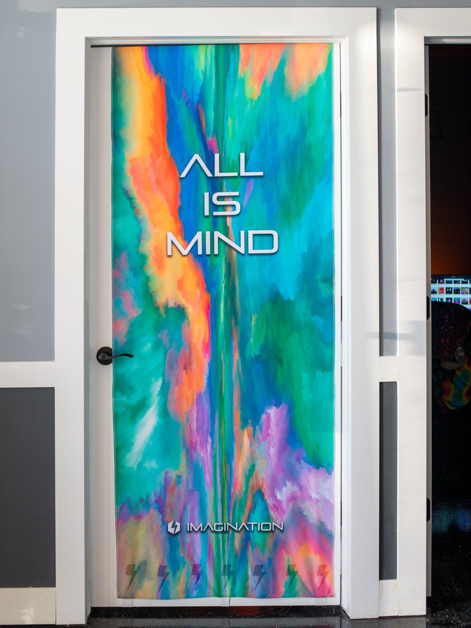 All Is Mind Door Cover Door Cover Electro Threads